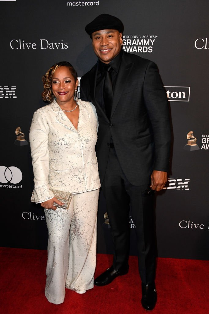 LL Cool J (R) and Simone Smith at The Beverly Hilton Hotel | Photo: Getty Images