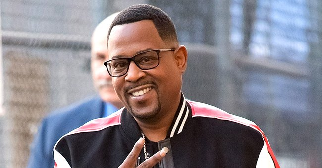 Martin Lawrence's Daughter Jasmin Shows Her Gorgeous Smile Rocking a Gray Outfit with Hoop Earrings