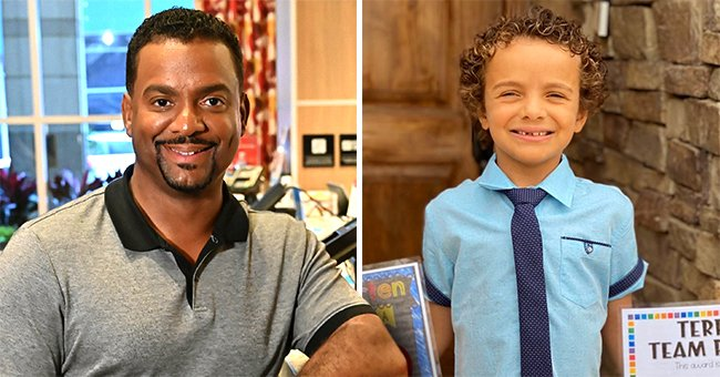 Alfonso Ribeiro and Angela Unkrich's Son AJ Graduates Kindergarten with a Special Award