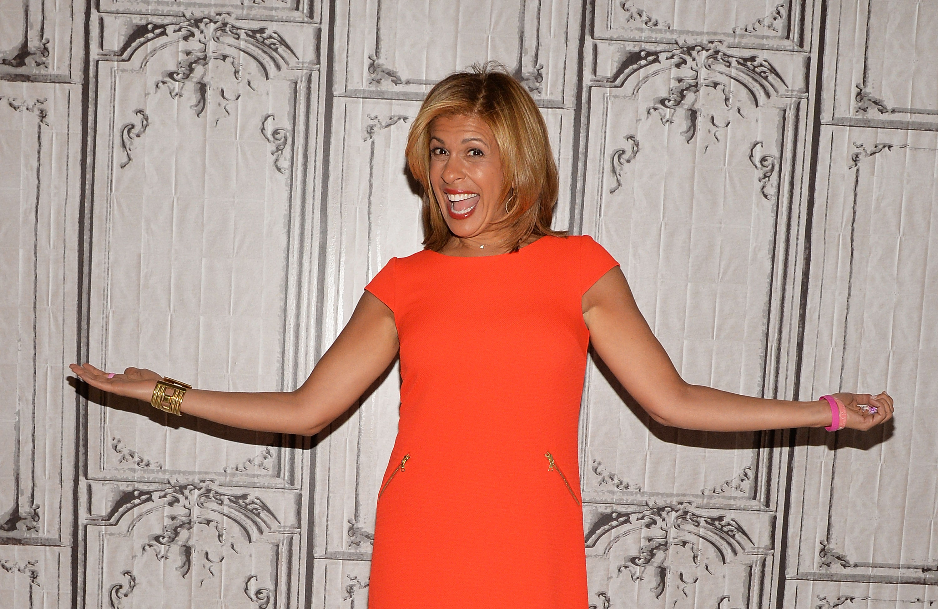 """Today"" show host Hoda Kotb during her 2016 visit at the AOL BUILD series event in New York City. 