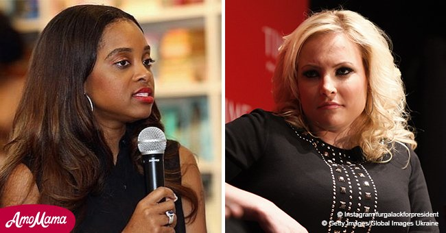 Women's March leader slams Meghan McCain, referring to her as a 'white woman yelling'
