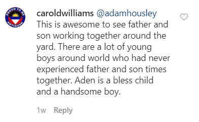 A fan's comment on Adam Housley's post on his Instagram page | Photo: Instagram.com/adamhousley/