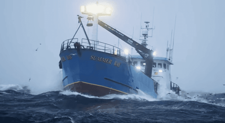 """Summer Bay, one of the """"Deadliest Catch"""" fishing ships 