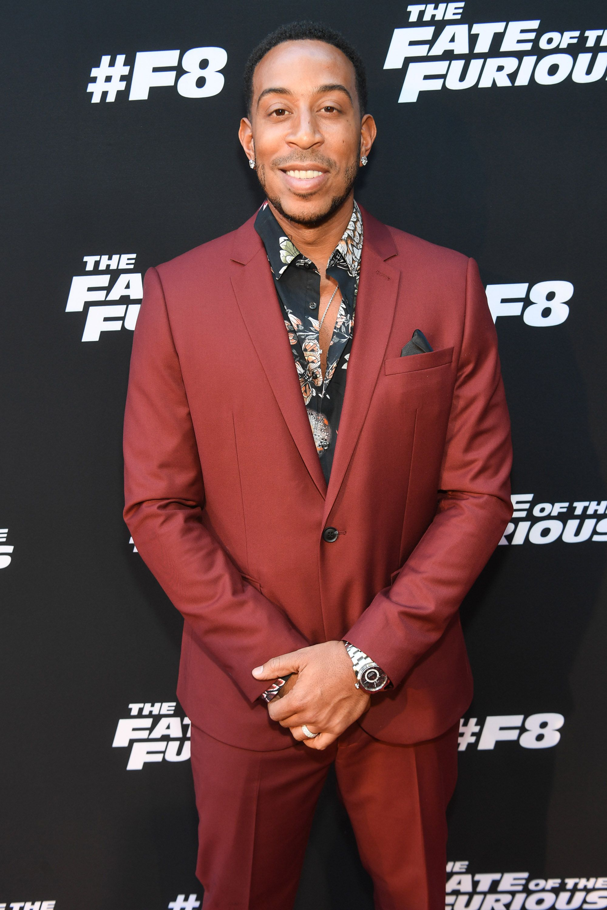 "Ludacris at ""The Fate of the Furious"" Atlanta red carpet screening at SCADshow on April 4, 2017 