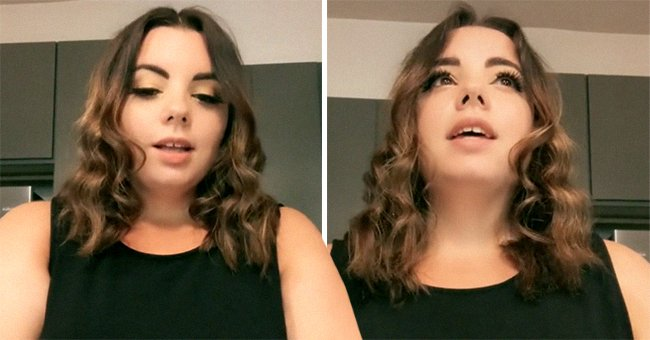 Fallon Melillo talks about her negative experience as she was denied entry to a party bus due to her size.   Source: tiktok.com/curvybb
