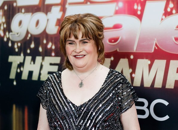 "Susan Boyle at the ""America's Got Talent: The Champions"" Finale  in Pasadena, California 