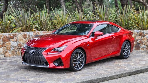 The 2016 Lexus RC F Sport Coupe. | Source: Shutterstock.