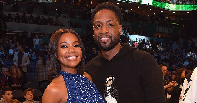 Gabrielle Union Turns up the Heat on a Basketball Court Showing Her Hips in Snake-Print Bikini