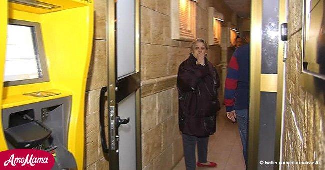Mujer de 66 años y su hijo discapacitado finalmente abandonan el trastero donde vivían