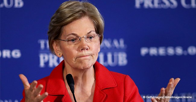 Joy Behar mocks Sen. Elizabeth Warren for a bizzare photo with her grandson