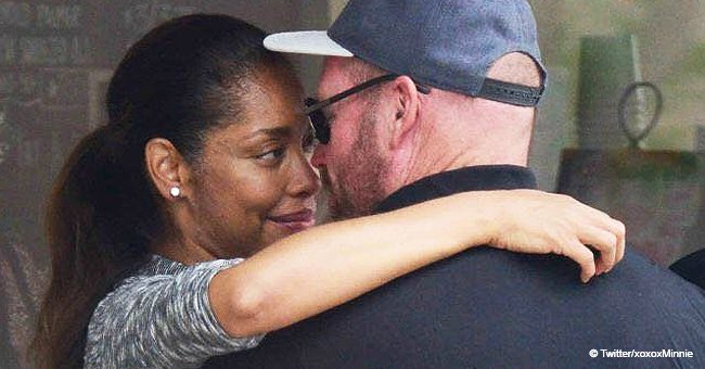 Gina Torres makes rare public appearance with her new man following split from Laurence Fishburne