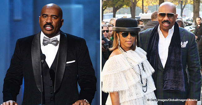 Steve Harvey and His Wife Marjorie Finally Speak out about Divorce Rumors