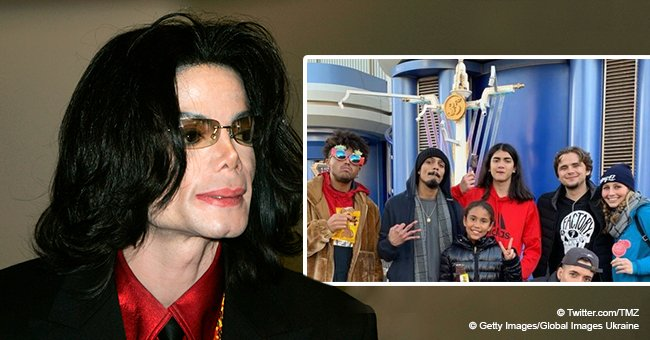 Michael Jackson's sons, Prince and Blanket, make rare appearance together during the holidays