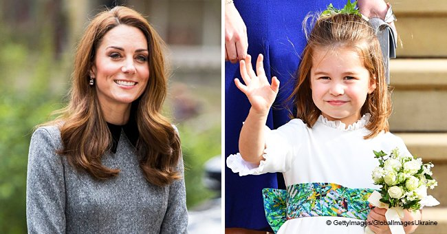 Kate Middleton Waves to Crowd in an Adorable Rendition of Charlotte's Signature Gesture