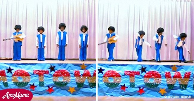 Amazing video of 4 kids performing Motown classics wins over millions of fans