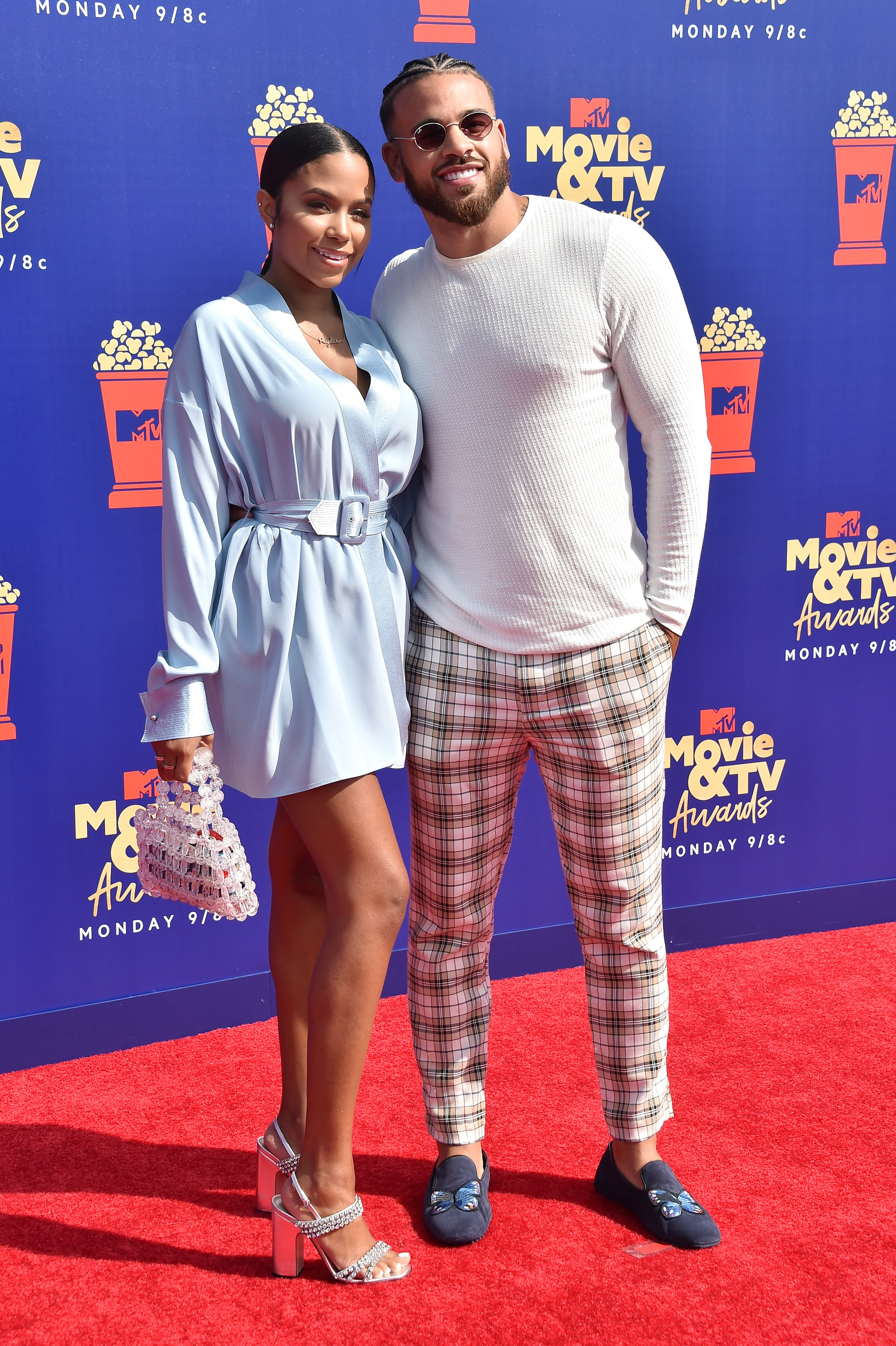 Cheyenne Floyd and Cory Wharton at the 2019 MTV Movie and TV Awards on June 15, 2019 | Photo: Getty Images