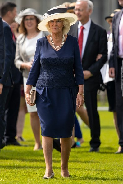 "Camilla, Duchess of Cornwall names Saga's new Cruise Ship ""Spirit Of Discovery"" in Dover, England.