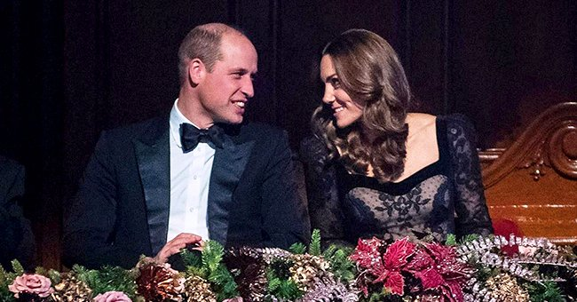 Kate Middleton Stuns in Gorgeous Alexander Mcqueen Gown as She Attends Royal Variety Performance with Prince William