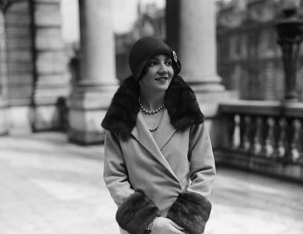 French-born actress Claudette Colbert (1903 - 1996) in London, circa 1928 | Photo: Getty Images