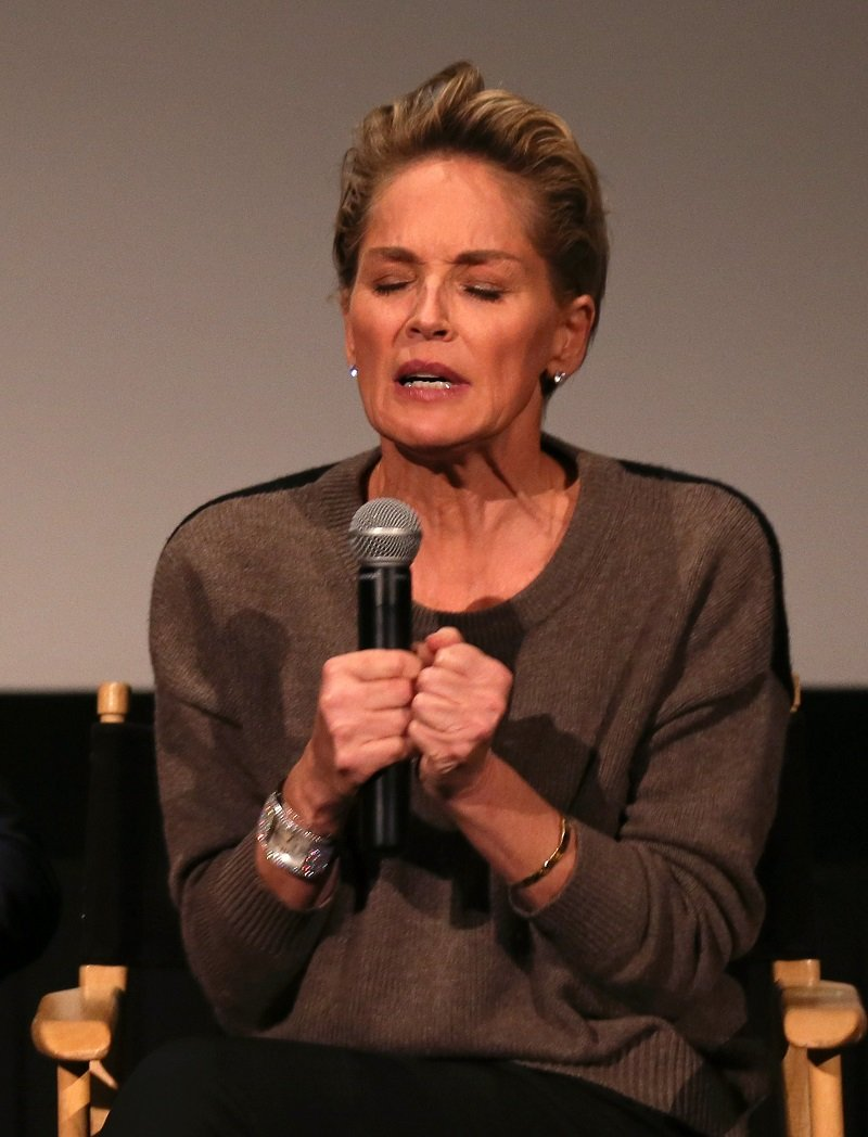 Sharon Stone on October 16, 2014 in Hollywood, California | Photo: Getty Images