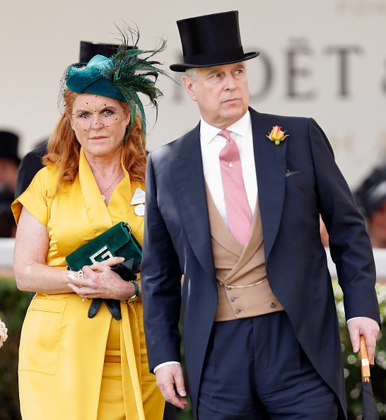 Sarah Ferguson, Duchess of York and Prince Andrew, Duke of York at Ascot Racecourse on June 21, 2019 in Ascot, England | Photo: Getty Images