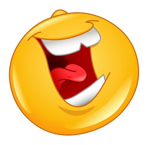 Émoticône riante. | Shutterstock
