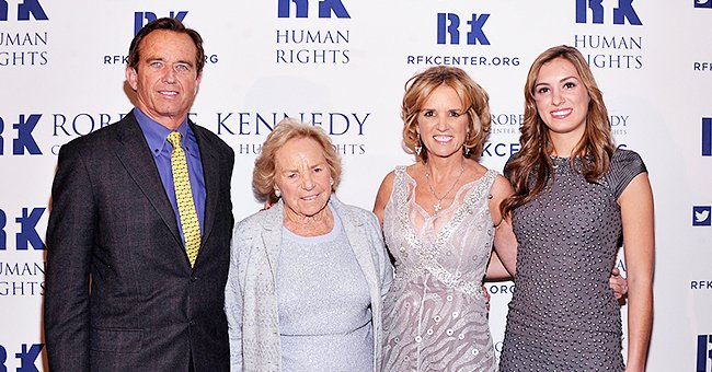 See How Kerry Kennedy Met up with Her Mom Ethel Amid the COVID-19 Pandemic