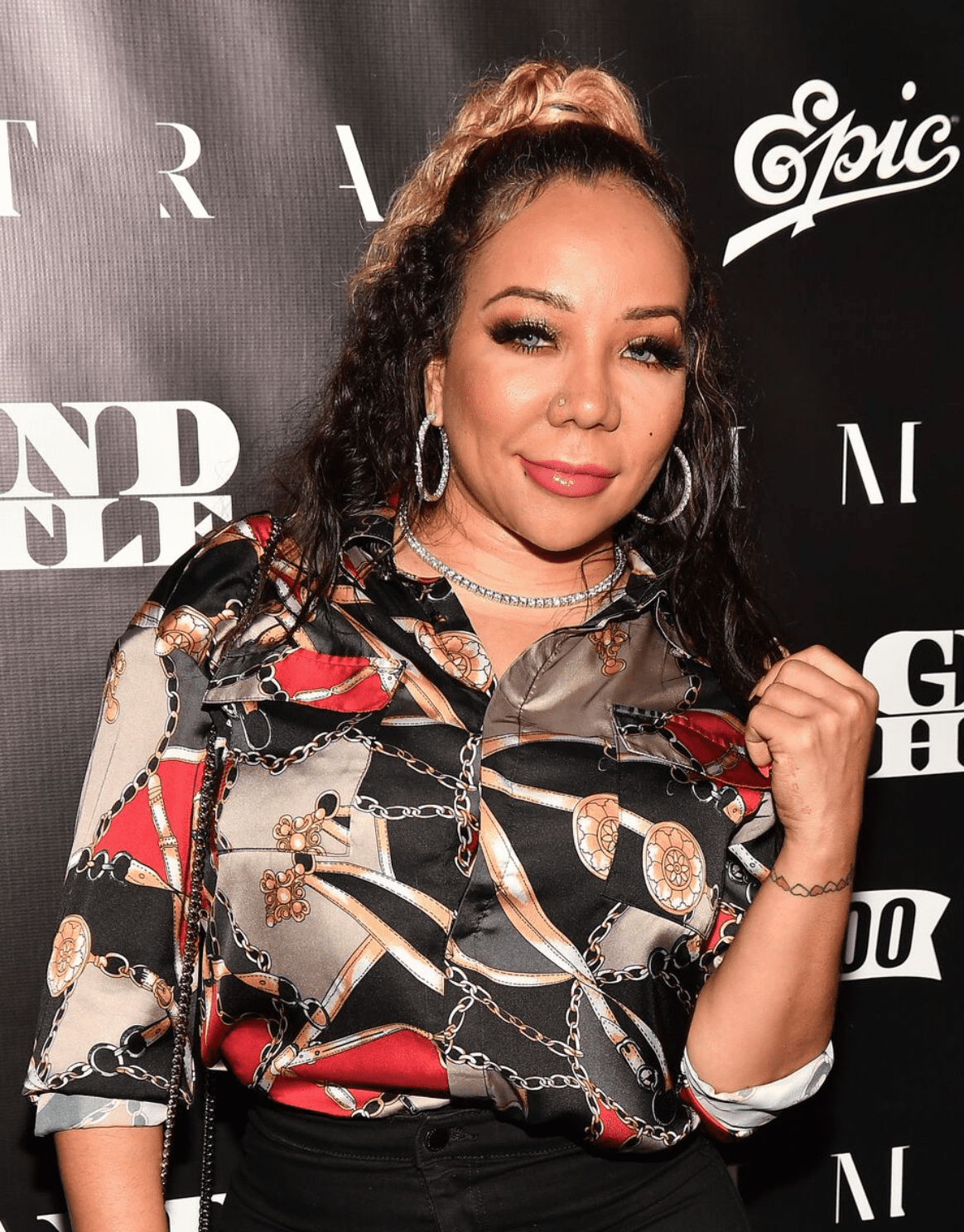 """Tameka """"Tiny"""" Harris attends T.I.'s """"Dime Trap"""" Private Album Release Party at The Trap Museum on October 4, 2018 in Atlanta, Georgia. 