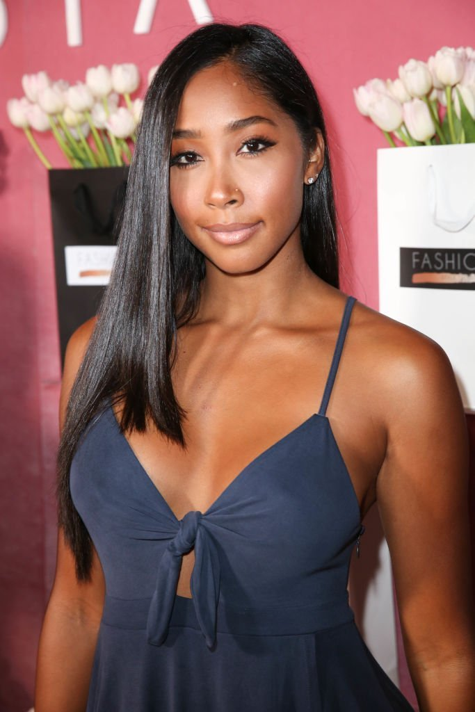Apryl S. Jones attends Fashionsta Launch at NeueHouse Hollywood in Hollywood, California | Photo: Getty Images