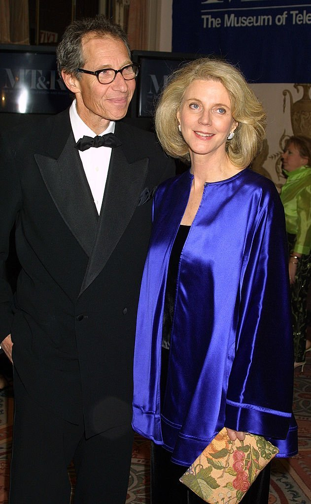 Blythe Danner with her husband Bruce Paltrow attend The Museum of Television & Radio's annual gala | Getty Images