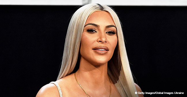 Kim K.'s Son Saint Kisses Sister Chicago in Photo as Due Date Nears