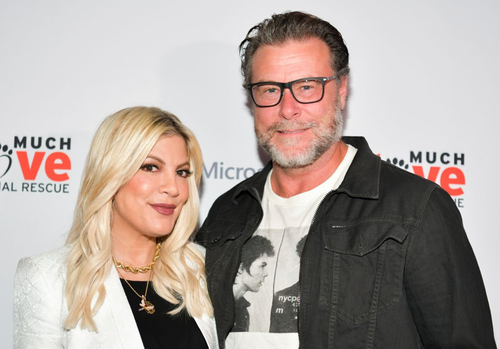 Tori Spelling and Dean McDermott at the Much Love Animal Rescue 3rd Annual Spoken Woof Benefit, 2019, Culver City, California.   Photo: Getty Images