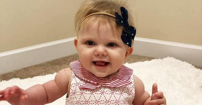 Une enfant de 9 mois survit à une tumeur rare, qui a pris 60% de son cerveau