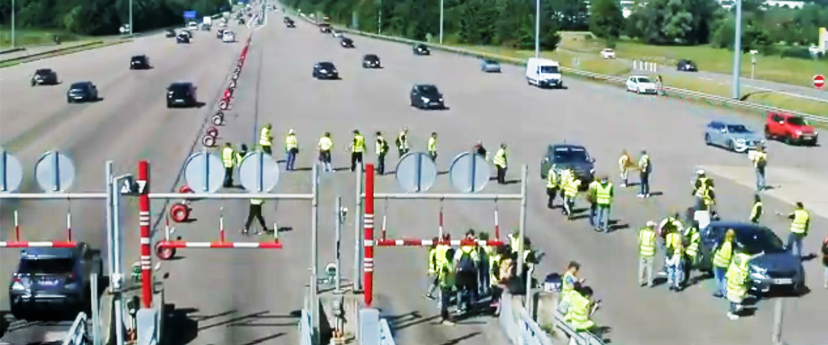 Gilets jaunes : blocage du port de Saint-Malo, des centaines de Britanniques ont été piégés