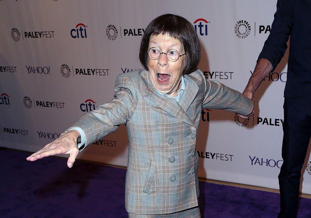 Linda Hunt en un festival en Los Ángeles, año 2015 | Crédito: Getty Images/GlobalImagesUkraine