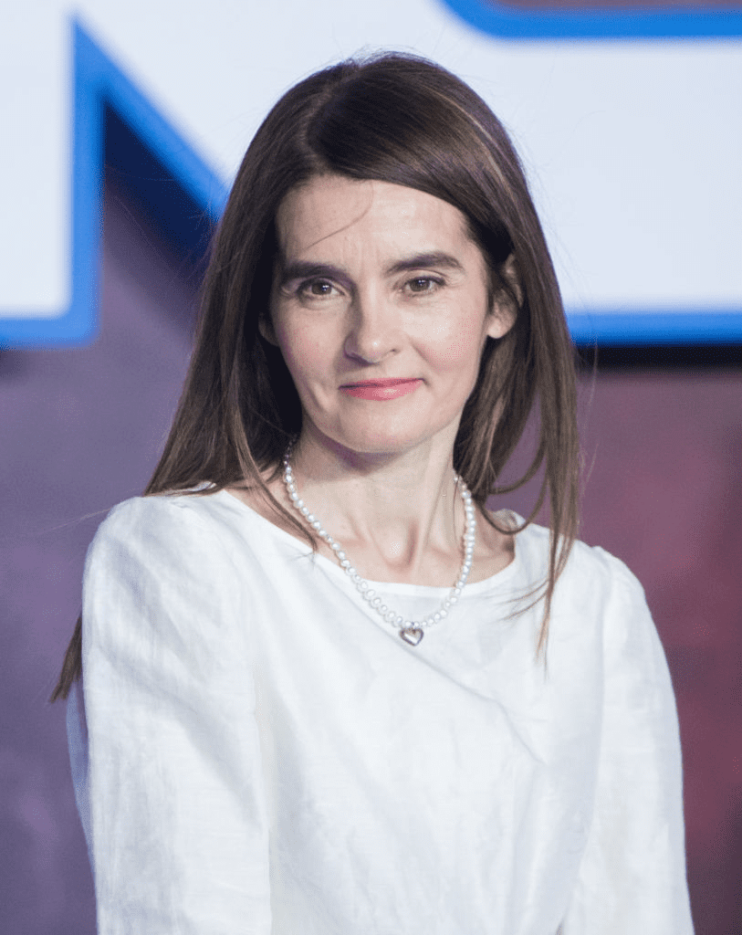"LONDRES, ANGLETERRE - 18 DÉCEMBRE : Shirley Henderson assiste à la première européenne de ""Star Wars : The Rise of Skywalker"" au Cineworld Leicester Square le 18 décembre 2019 à Londres, en Angleterre. 