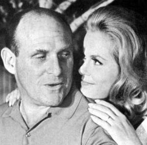 A publicity photo of William Asher and his wife Elizabeth Montgomery. | Source: Wikimedia Commons