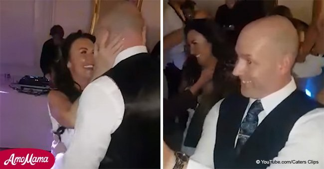 Bride and groom stun guests with unusual song for their first dance