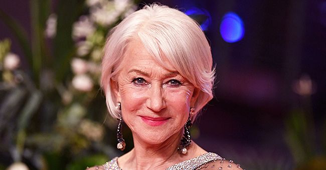 Helen Mirren From 'Catherine The Great' Dazzles at the 70th Berlinale International Film Festival in Holographic Black and Silver Gown