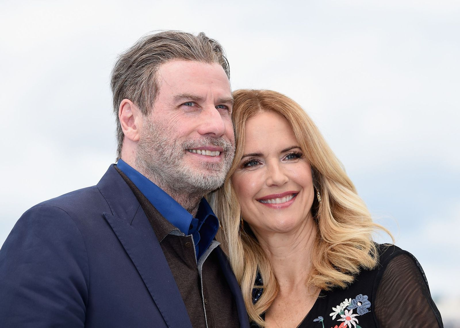 John Travolta and Kelly Preston atthe 71st annual Cannes Film Festival on May 15, 2018, in Cannes, France   Photo:Dominique Charriau/WireImage/Getty Images