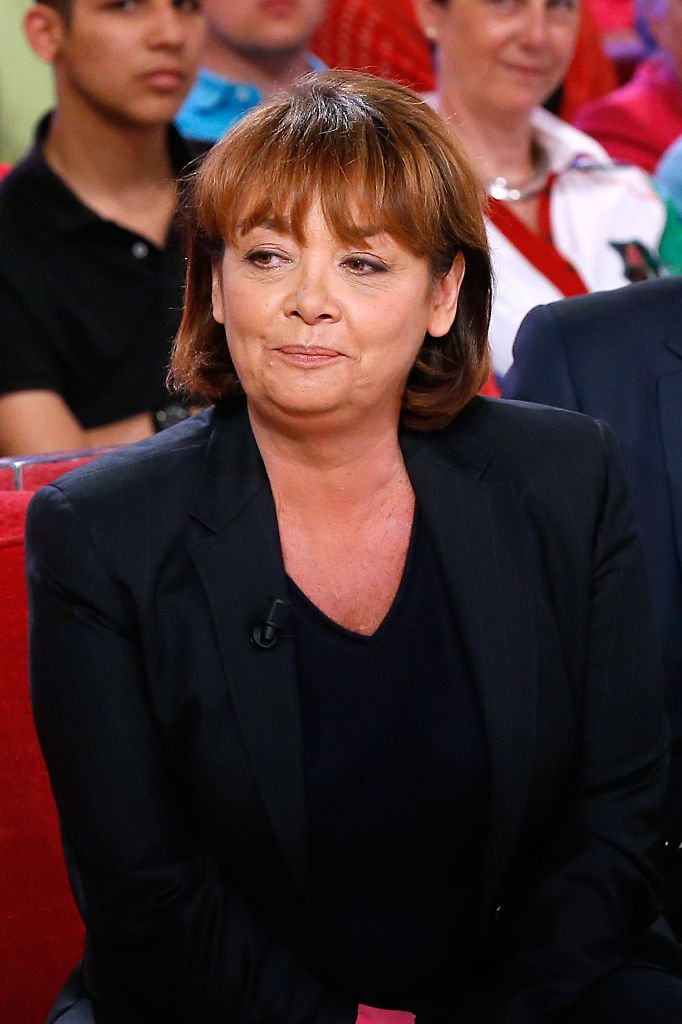 "La journaliste Nathalie Saint-Cricq présente le talk show ""Des paroles et des actes"". 