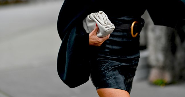 Daily Joke: A Young Woman in a Tight Leather Skirt Tries to Get On a Bus