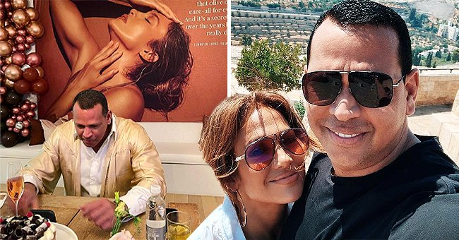 Alex Rodriguez Pays Tribute to Fiancée Jennifer Lopez with a Sweet Snap
