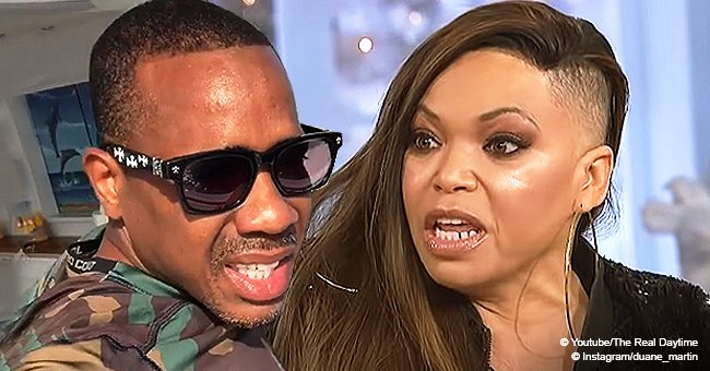 Duane Martin denies ex Tisha Campbell's domestic abuse claims and says they're 'fabricated'