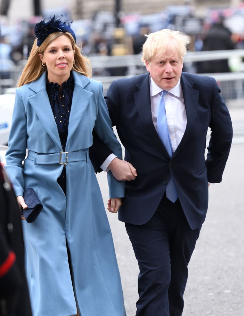 Boris Johnson and Carrie Symonds attend the Commonwealth Day Service 2020 at Westminster Abbey on March 09, 2020 | Photo: Getty Images