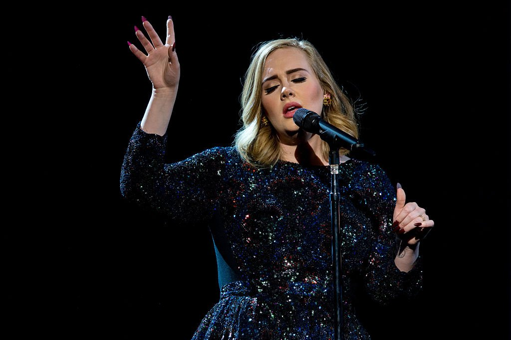 Adele performs on stage at Hallenstadion, May 2016 | Source: Getty Images