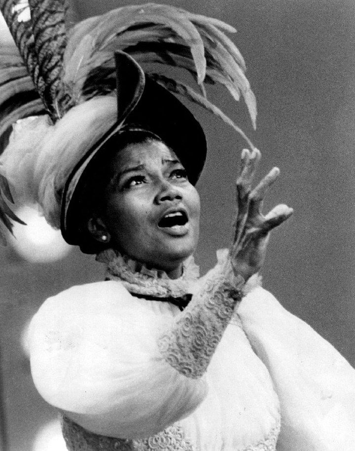 """Pearl Bailey performing """"Before the Parade Passes By"""" on """"The Ed Sullivan Show,"""" June, 1968 