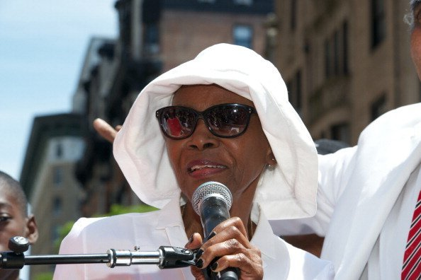 "Cicely Tyson at the NYC Block Party Celebrating ""Miles Davis Way"" Unveiling  in New York City.