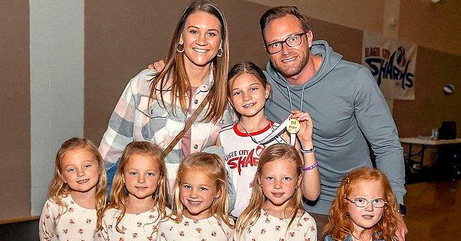 'OutDaughtered' Stars Adam & Danielle Busby Praise Their Daughter Blayke after Basketball Win