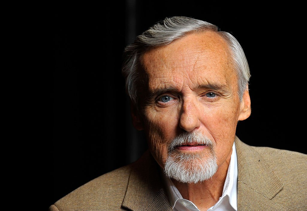 Actor and chair of the CineVegas creative advisory board Dennis Hopper poses for a portrait during the 11th annual CineVegas film festival held at the Palms Casino Resort | Photo: Getty Images